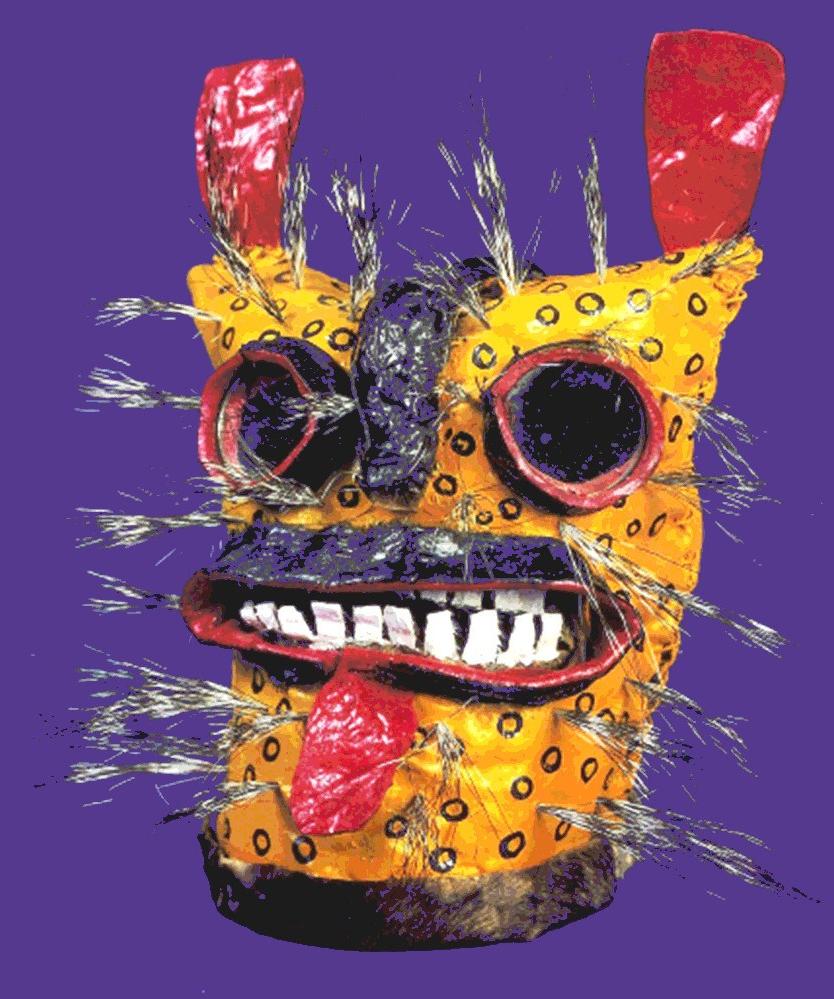 Máscara-de-tigre-de-Zitlala.